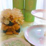 2月のポーセラーツサロン・お教室の紅茶